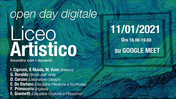 Open day Polo Liceale Artistico