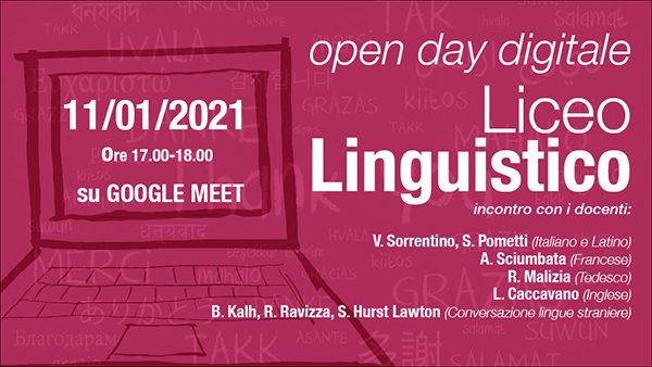 Open day Polo Liceale Linguistico
